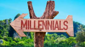 bigstock Millennials arrow with beach b 107694023